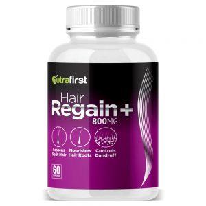 Nutrafirst Hair Regain Capsules for Faster Hair Growth