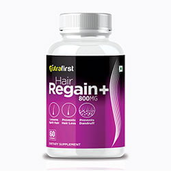 Nutrafirst Hair Regain Capsules for Faster Hair Growth – 60 Capsules