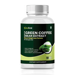 Green Coffee Beans | Green Coffee Capsules For Weight Loss (60 Capsules)