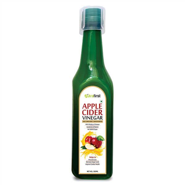 Apple Cider Vinegar For Weight Loss | Organic Apple Cider Vinegar 500ml
