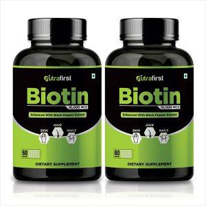 Biotin capsules