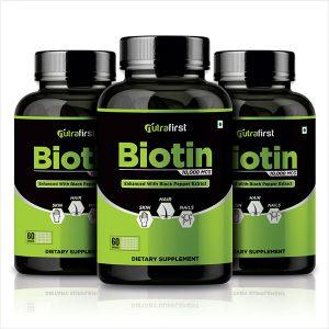 Biotin capsules for hair