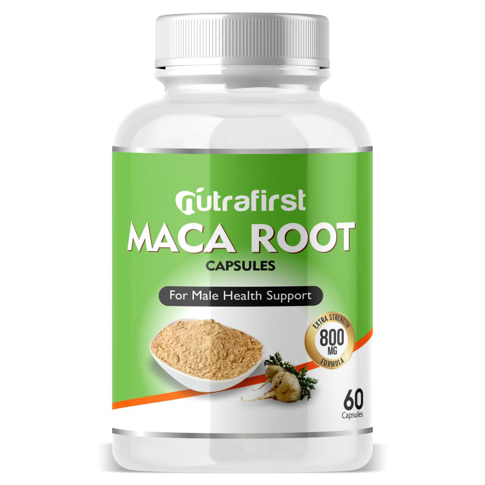 Nutrafirst Maca Root 500mg for Endurance and Energy – 60 Capsules