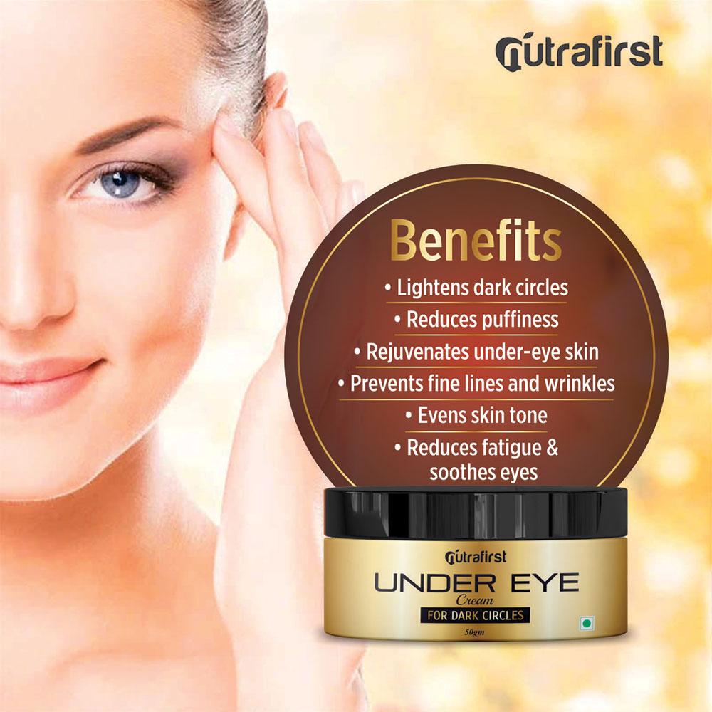 Under Eye Cream | Best Under Eye Cream For Dark Circle (For Men & Women) – 50gm