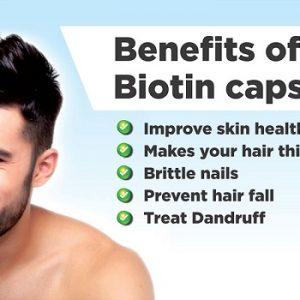 Get Benefits Of Biotin Capsules For Beard Growth
